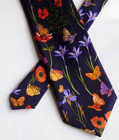 Very dark blue background. Dark Blue Background, Silk Ties, Floral Tie, Outdoor Kitchens, Pocket Squares, Bowties, Neckties, Luxury, Bespoke