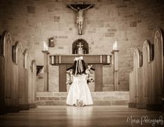 First Communion Pose Morse Photography