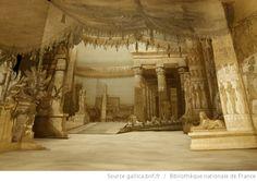 [Moïse : Acte III : Le porche du temple d'Isis : maquette de décor en volume / Edouard Despléchin] - 11