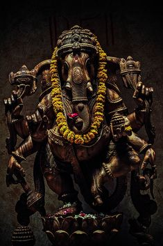 Ganesha, Remover of Obstacles by andrewobenreder.deviantart.com on @deviantART