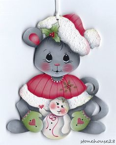 HP Mouse with Snowman Ornament   eBay