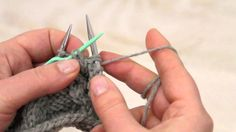 How to Knit - Cables