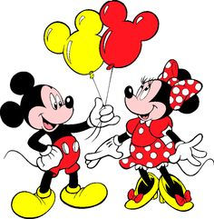 mickey and minnie mouse | Arthur's Free Mickey and Minnie Mouse Clipart Page 1