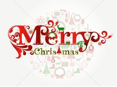 Merry Christmas vector background by Onfocus  on dreamsimages.com