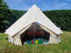 Our Bell Tent