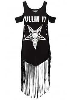 Killstar Killin' It On The Fringe Dress, £39.99