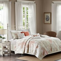 Madison Park Katalina Quilted Coverlet Set