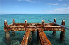 A rusted jetty, St.George's Bermuda Steven Greaves