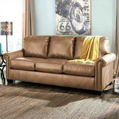 Lottie DuraBlend® Transitional Bonded Leather Match Queen Sofa Sleeper with Memory Foam Mattress by Signature Design by Ashley at Furniture Mart Colorado Queen Sofa Sleeper, Sleeper Sofas, Recliners, Queen Memory Foam Mattress, Pull Out Couch, Best Leather Sofa, Leather Sofa Covers, Leather Couches, Love Seat