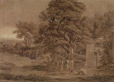 Работы Йозефа Антона Коха (1768 -1839).