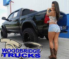 Dodge Trucks, Lifted Trucks, Big Trucks, Pickup Trucks, Logging Equipment, Trucks And Girls, N Girls, Four Wheel Drive, Denim Mini Skirt