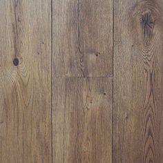"Wire Brushed Cognac White Oak - Engineered Hardwood - Or ""Smokehouse Oak"" Floors by Type Hardwood Floor Colors, Wide Plank Flooring, Engineered Hardwood Flooring, Hardwood Floors, Oak Flooring, Basement Flooring, Floor Stain, Floor Wax, White Oak Floors"