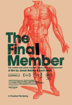 Big Exclusive! Here's the Poster for the Penis Doc 'The Final Member' | Filmmakers, Film Industry, Film Festivals, Awards & Movie Reviews | ...