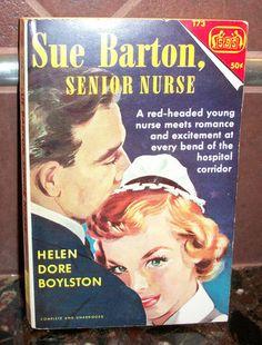 Vintage 1964 Sue Barton, Senior Nurse book, by Helen Dore Boylston