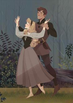 Image shared by Le Cirque des Rêves. Find images and videos about art, disney and dance on We Heart It - the app to get lost in what you love. Aurora Disney, Disney Magic, Disney Couples, Disney Girls, Disney Animation, Animation Movies, Disney And Dreamworks, Disney Pixar, Princesse Aurora