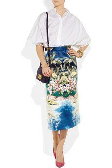 Stella McCartney skirt.