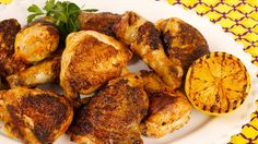 Portuguese Barbecued Chicken - Recipes - Best Recipes Ever - Mix up the marinade, pour it over the chicken and pop the whole thing into the cooler, ready to grill when you get to the cottage.