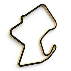 Laguna Seca Track Sculpture Half Size  18 ** Want to know more, click on the image.-It is an affiliate link to Amazon. #WallSculptures