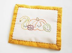 Gourd Friends Embroidery Pattern