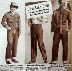Vintage Outfits, Vintage Fashion, Vintage Denim, Different Styles, Blue Denim, Denim Jeans, Dads, Mens Fashion, Retro