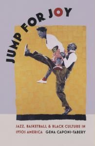 """Jump for Joy by Gena Caponi-Tabery  """"In this book, Gena Caponi-Tabery chronicles these triumphs and shows how [African Americans] shaped American music, sports, and dance of the 1930s and beyond. But she also shows how they emboldened ordinary African Americans to push for greater recognition and civil liberties—how cultural change preceded and catalyzed political action."""" (from website description)"""