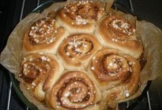 Zobrazit detail - Recept - Cinnamon buns - skořicové rolky