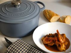 Chicken with prawns | Pollastre amb gambes | Pixiecuina