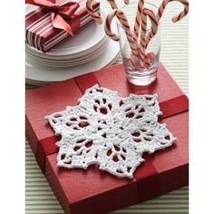 Crochet Patterns Galore - Snowflake Dishcloth