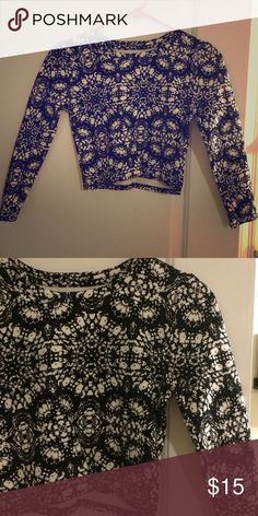 H&M Crop Top Would fit an XS or S. Please ask for try on pic. All posts open to offers, custom/bundled deals, trades, Mer, Ven mo, B of Amer, Citizens. H&M Tops Crop Tops