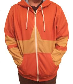 Avatar: The Last Airbender Zuko Inspired Hoodie