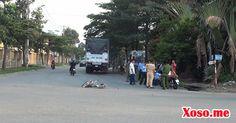 HCM: Xe tải tông xe đạp, bảo vệ bị cán tử vong