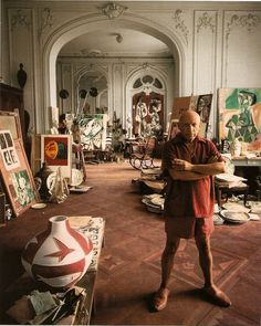 Picasso in 1956.
