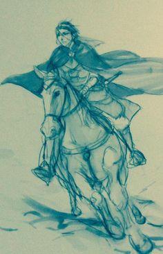らくがき詰め Gieve the Lone Rider, Arslan Senki fanart