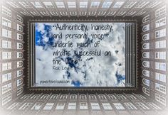Authenticity, honesty, and personal voice underlie much of what's successful on the web. Rick Levine