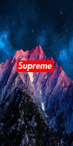 Mountain Supreme Wallpaper By Supreme Savage11 Zedge