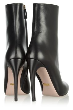 Gucci|Goldie leather mid-calf boots|NET-A-PORTER.COM