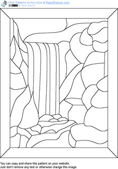 Free Waterfall pattern. Get it and more free designs at http://Online.RapidResizer.com/patterns.php