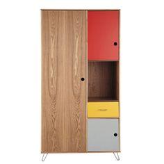 Kleiderschrank gezeichnet  Modernistischer Stahlrohr Kleiderschrank im Bauhaus Stil von ...