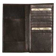 5e89bb9ff Men s Dopp Milan Passport Folio - Brown Passport Holders