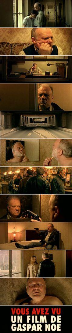 Seul contre tous (1998) Directed by Gaspar Noé. Cinematography by Dominique Colin.