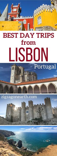 Portugal Travel Inspiration - Portugal Travel Guide - Best day trips from Lisbon to Sintra, Obidos, the monasteries, the beaches, Evora... | Portugal itinerary | Portugal things to do | Lisbon things to do