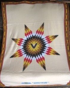 Vintage Soft Lap Blanket Throw St Joseph's Indian School South Dakota Initial V  #StJosephsIndianSchool #InitialV #V #lapblanket