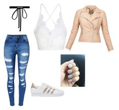 """""""How to wear adidas"""" by zandribrummer on Polyvore featuring WithChic, adidas Originals, Joomi Lim and MuuBaa"""