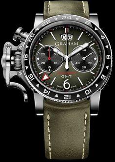 J'aime Les Montres: La Montre du jour: Graham Chronofighter Vintage GMT