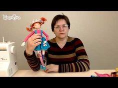 МК Кукла Гермина. Часть 1 - YouTube Tiny Dolls, Soft Dolls, Cute Dolls, Doll Videos, Diy Crafts Hacks, Little Girl Gifts, Flower Pillow, Diy Couture, Doll Wigs