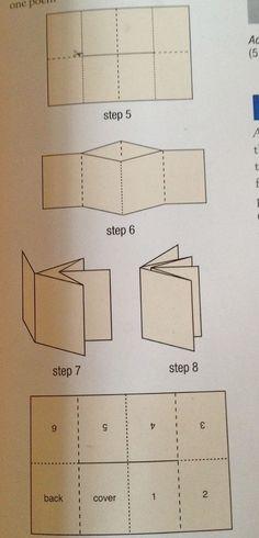 Origami design book folding Ideas for 2019 Up Book, Book Art, Make A Book, Paper Book, Paper Art, Cut Paper, Book Crafts, Paper Crafts, Ideias Diy