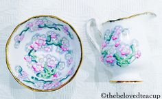 Crown Logo, Cream And Sugar, Royal Albert, Tea Cups, Antiques, Etsy, Antiquities, Antique, Teacup