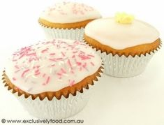 These light and tender vanilla flavoured cupcakes are topped with sweet glace icing. Preparation time: about 40 minutes (excludes baking ...