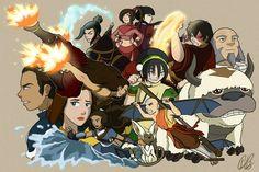 The avatar crew