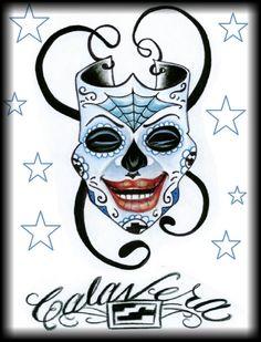 Smile now by calavera calaveratat2.com